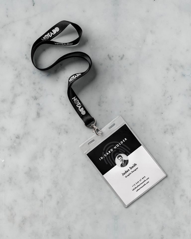 notadd lanyards with member card