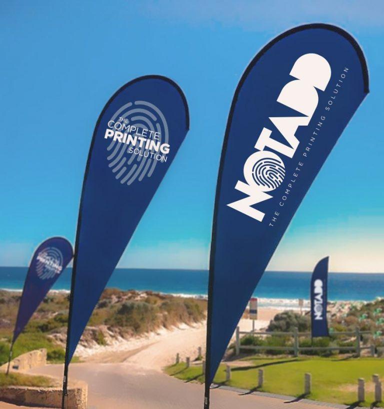 notadd beach flags seaview