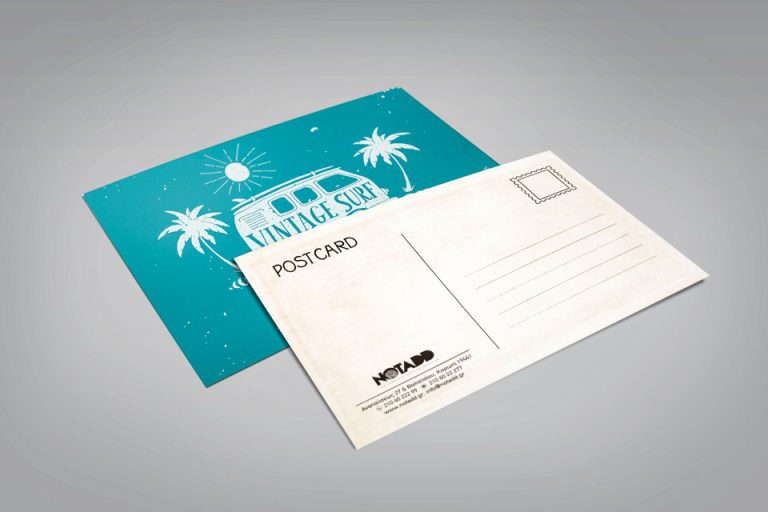 notadd prosklitiria postal cards