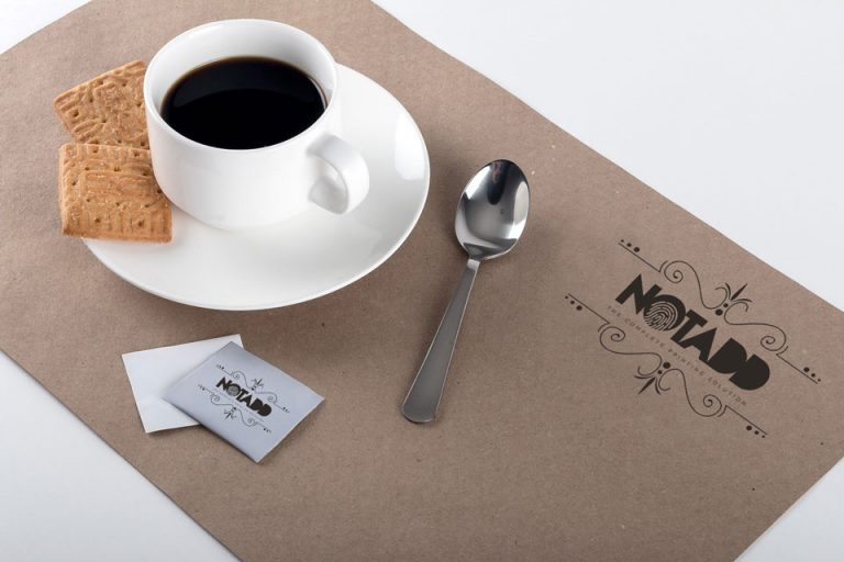 notadd monofylla polyptyxa triptyxo kouponia block soupla tablemats with coffee cup
