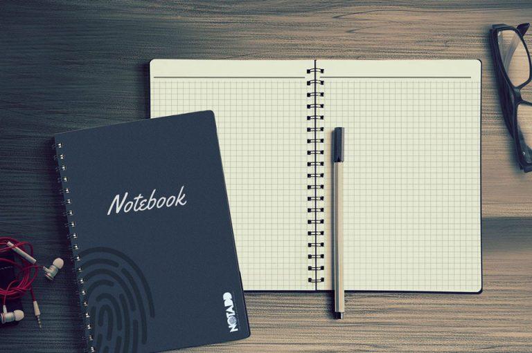 notadd polyselido spiral notebook