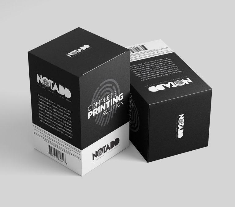 notadd kouti syskevasias box packaging