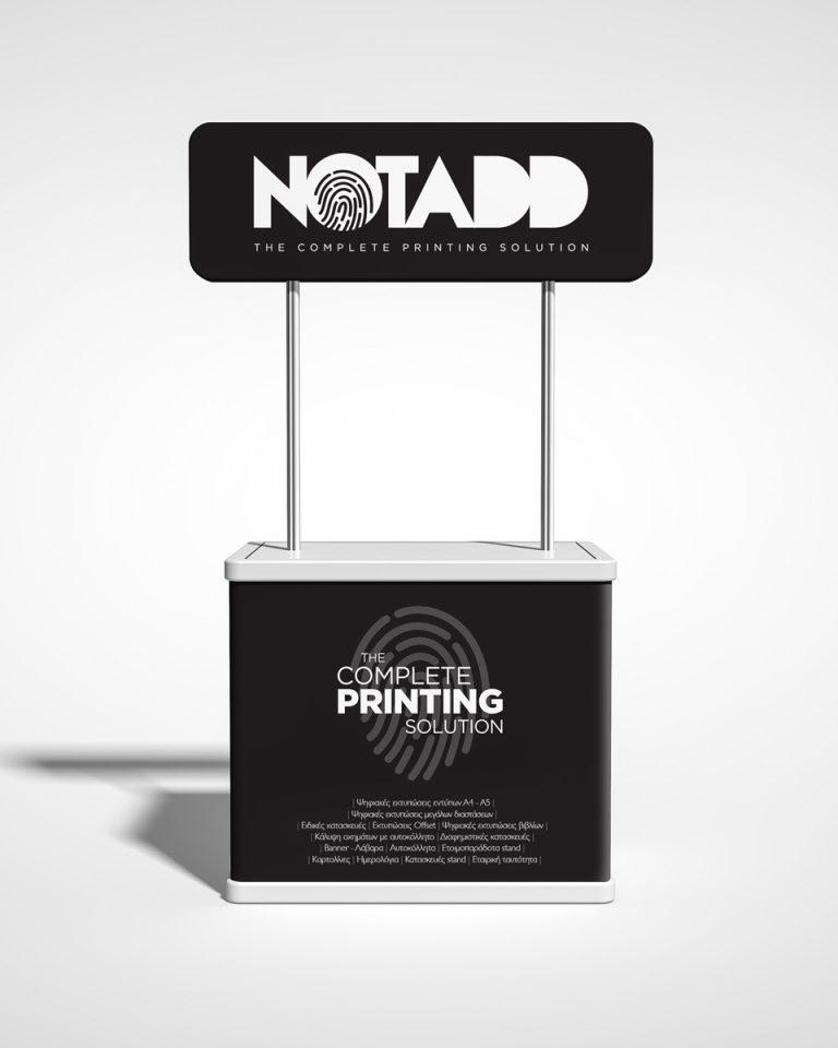 notadd diafimistika stand promotion