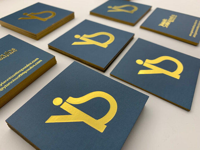 Κάρτες με βαμμένο σόκορο